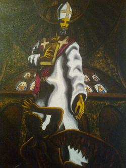 Ο Ιερός Αυγουστίνος μπροστά στο Κακό