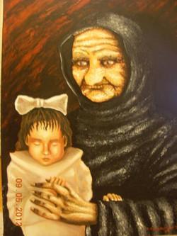 Γιαγιά και παιδί