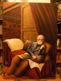 Ζ. Φρόυντ στο ντιβάνι