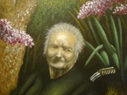 Πορτραίτο γιαγιάς (λεπτομέρεια)
