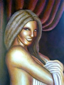Γυναίκα με σεντόνι