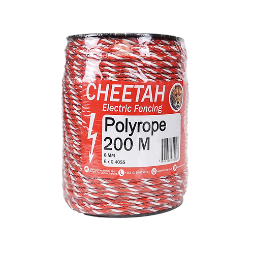 Cheetah Polyrope (200M x 6mm)