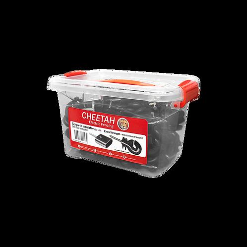 Cheetah Bucket Of Screw-Ins & Drill Tool (125 pcs)