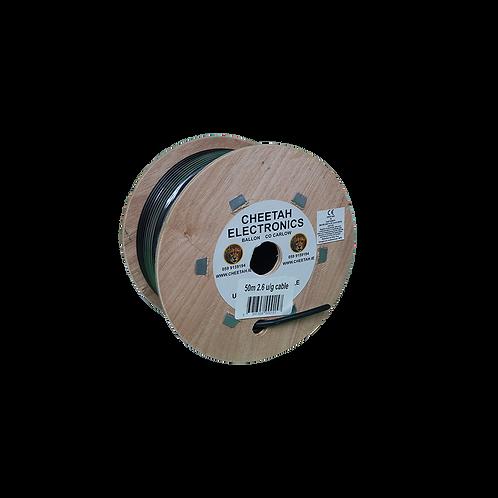 Cheetah Underground Cable (50M x 2.6)