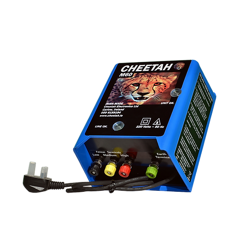 The M60 electric fence controller is a 200 acres fencer which has 3 output modes.