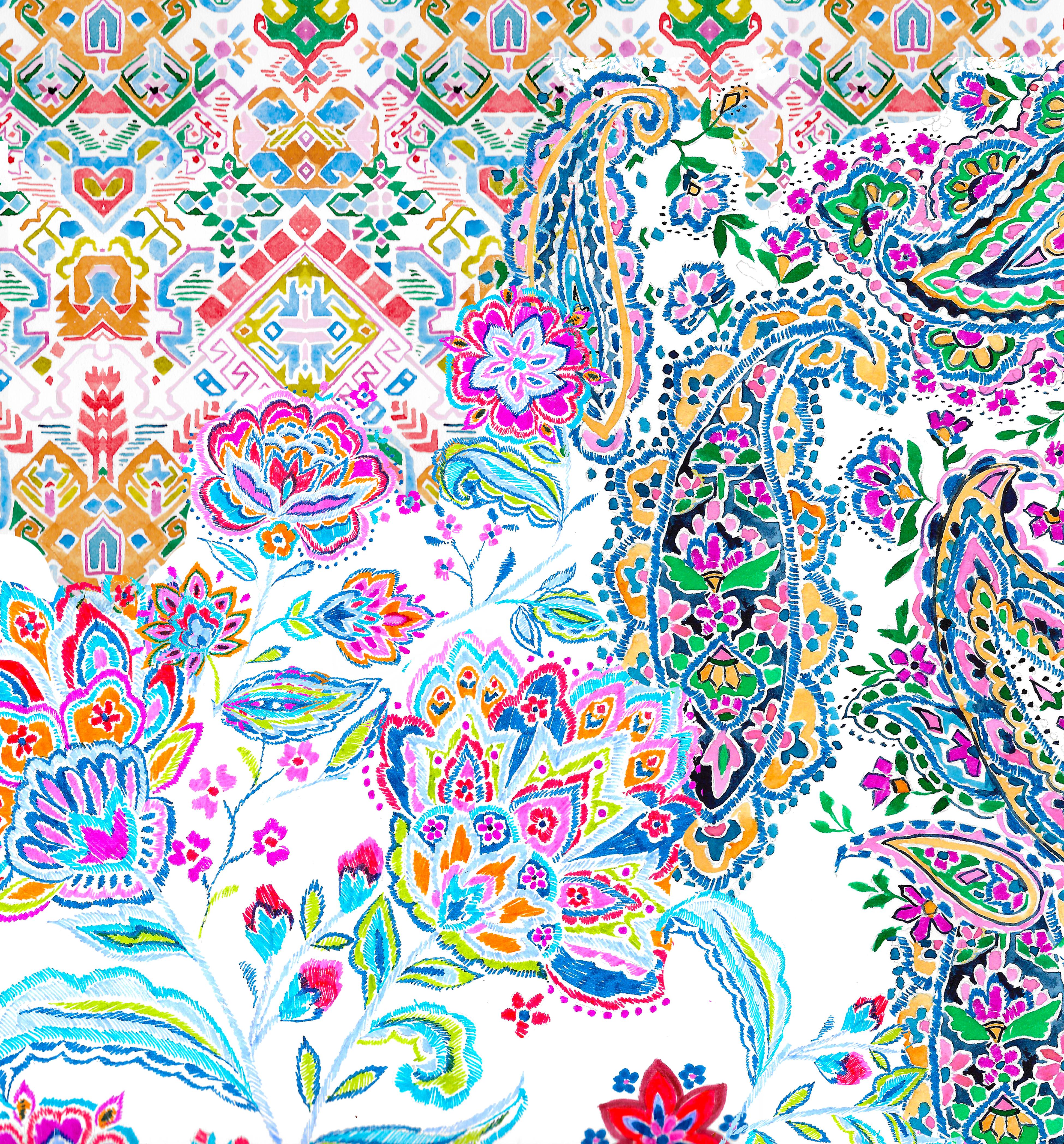 bohemian collage