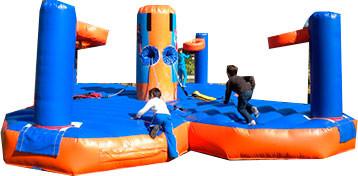 bungee-basketball-4 plazas.