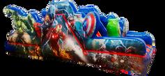 Escaladora avengers 6x3 mts.
