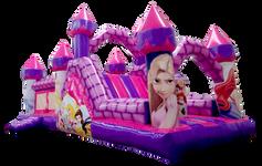 Combo escaladora princesas 8x4 mts.