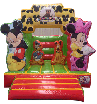 Brincolin Minnie y Mickey 3x4 mts.