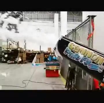 Cañón de espuma