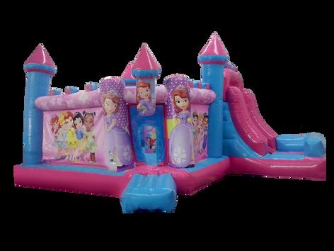 Cajon combo princesas 7x4 mts.
