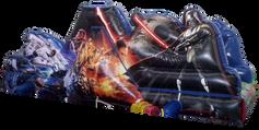 Escaladora star wars 6x3 mts.