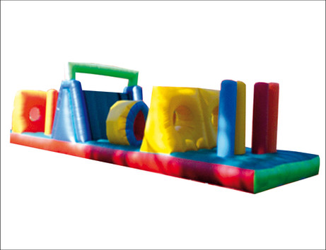 Inflable obstaculos 8x4 mts.
