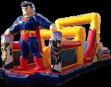 Combo interactivo superman 9x4 mts.