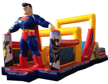 Combo interactivo superman 9x4 mts.