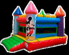 Brincolin Minnie y Mickey Castillo 3x4