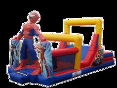 Combo spiderman 9x4 mts.