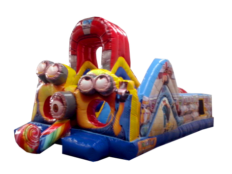 Inflable minion 8.5x4 mts.