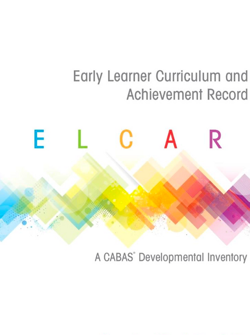 ELCAR (Early Learner Curriculum and Achievement Record)