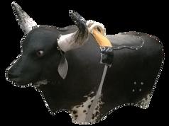 Toro Mecánico Grande cap. 140 kilos Forrado en piel natural