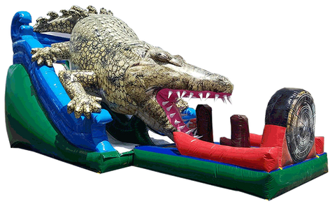 Slide-croc 10.30x4.70 mts.