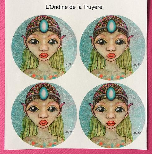 Stickers Ondine de la Truyère