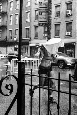 rain tennis 7th street  nyc occupy city