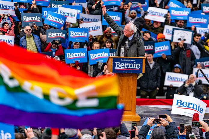 Bernie Sanders, 2018