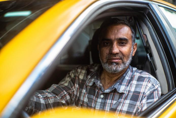Tariq Munir, 30 year NYC Cabbie