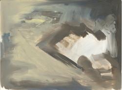 Gestural space 4, Oils