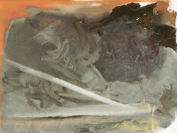 Gestural space 14, Oils
