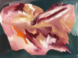 Gestural space 12, Oils