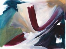 Gestural space 16, Oils