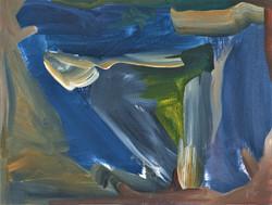 Gestural space 11, Oils