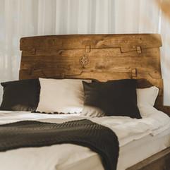 Oak bed handmade vabi-sabi design by Joma9