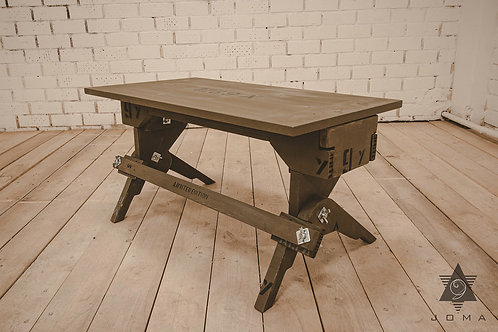 Handmade exclusive Coffee table collection Military by Joma 9