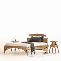 Signs of God — oak handmade vabi-sabi bedroom furniture