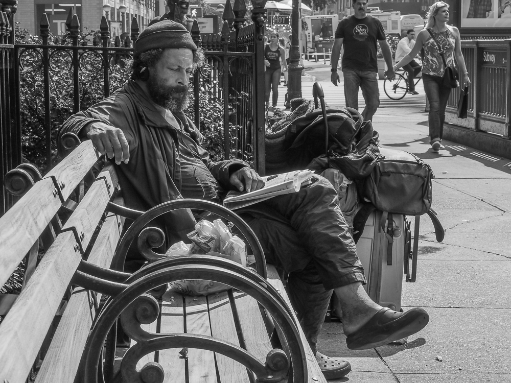Homeless Madison Square Park