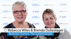 Rebecca and Brenda Winners Wall video