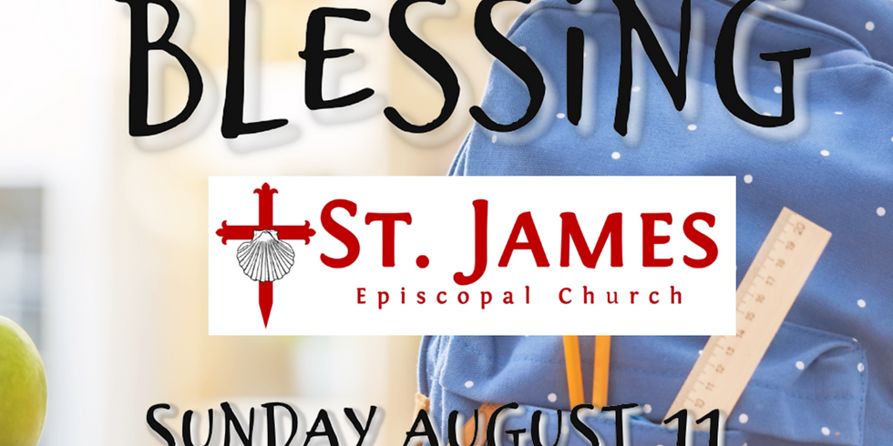 Backpack Blessing and Prayer for the School Year