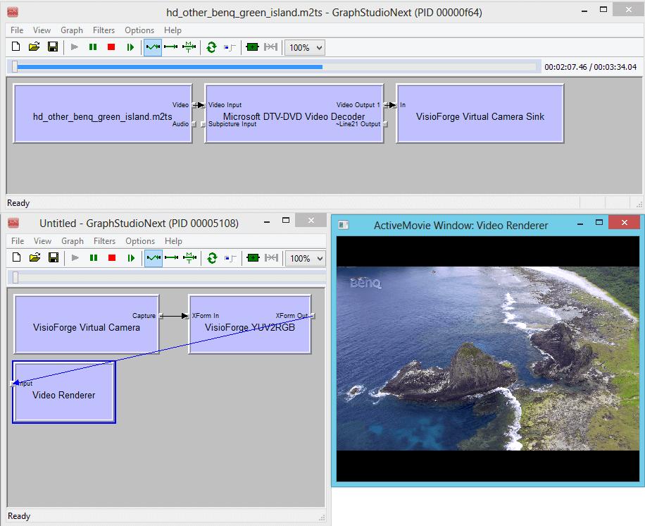 virtual camera sdk screenshot