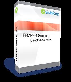 FFMPEG Source DirectShow filter boxshot