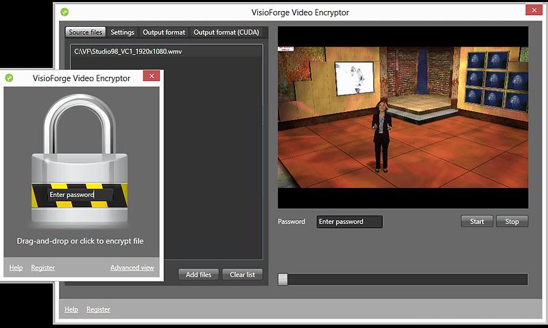 video ecnryptor screenshot