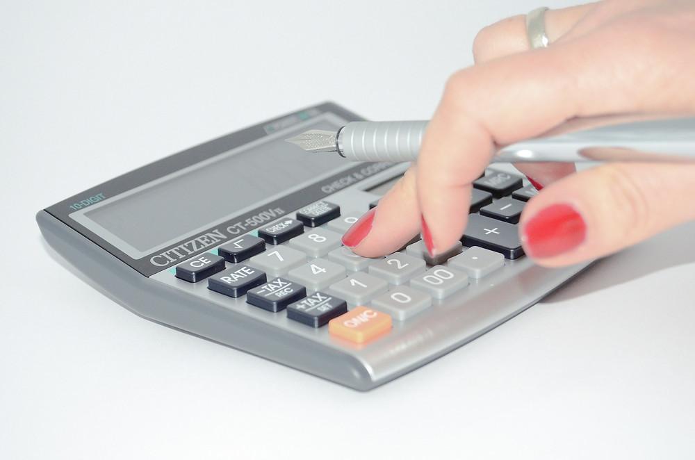 calcultaion of tax