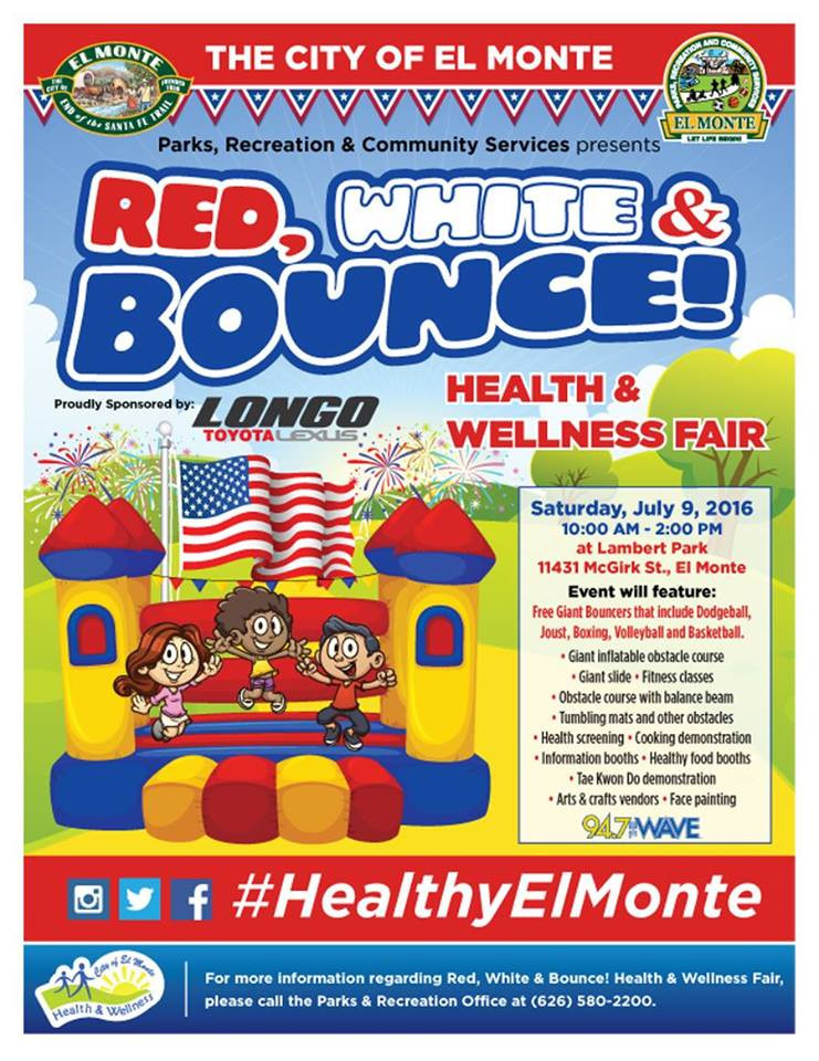 Red, White & Bounce