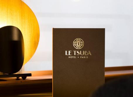 Ouverture Tsuba Hôtel 鍔 – 17è Paris