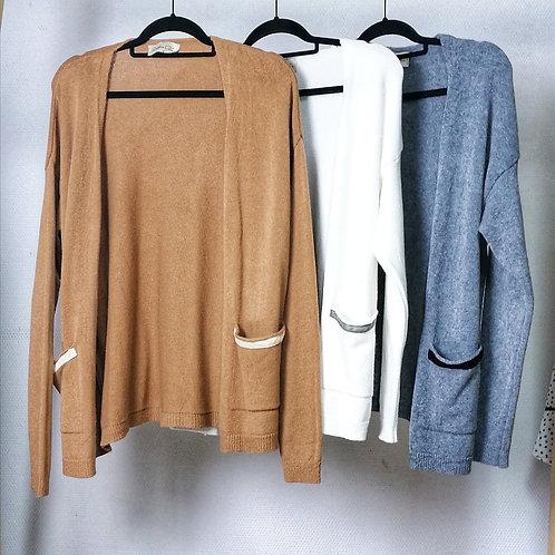 casaco de malha