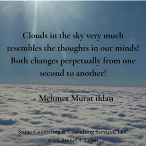 Thoughts Are Like Clouds