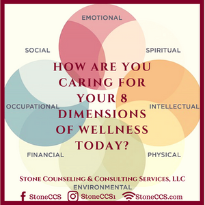 How are you caring for your 8 Dimensions of Wellness Today